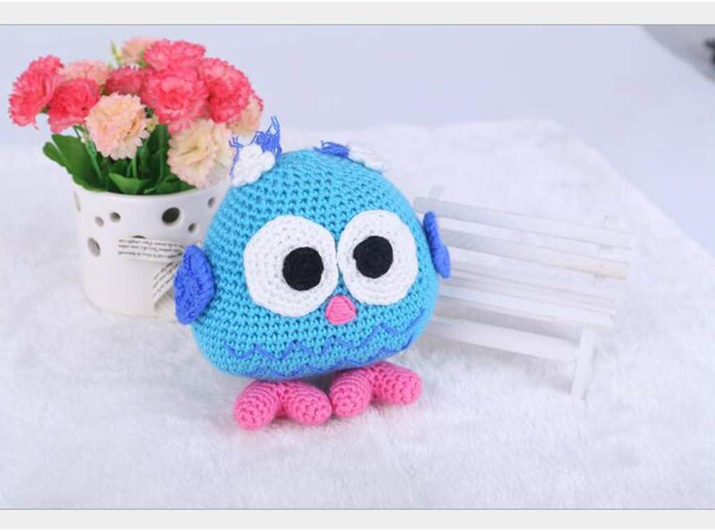 Generic Kit Uncinetto allUncinetto Amigurumi Baby Doll Gufo con Forniture E Strumenti per