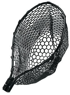 Frabill Landing Nets - Frabill Tangle Free Rubber Replacement Net, 20 x 23-Inch