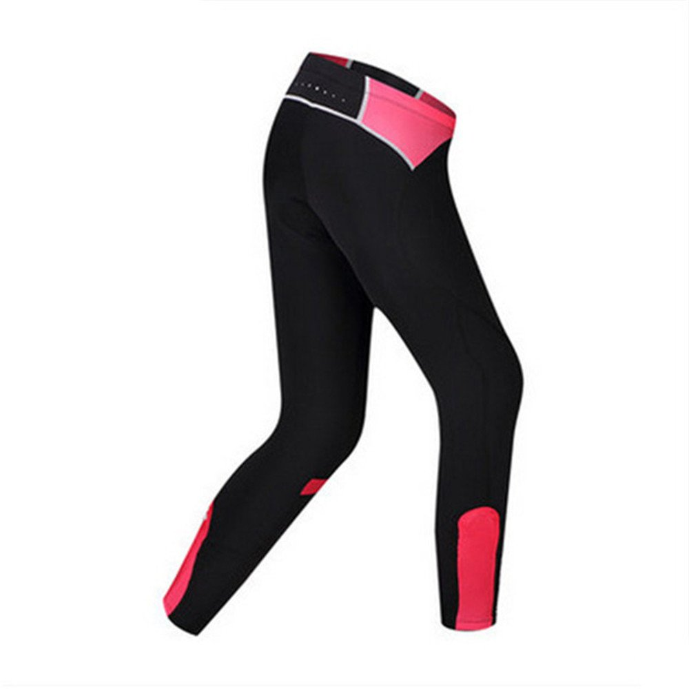 West Biking Women's Cycling MTB Bicycle Racing Pants Padded Bike Compression Tights Capris