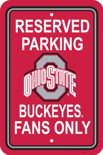 (Ohio State 12 x 18 Parking Sign )