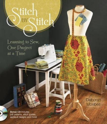 Stitch by Stitch: Learning to Sew, One Project at a Time by Krause Publications