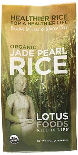 Lotus Foods Rice Jade Pearl Org Gf 15 OZ