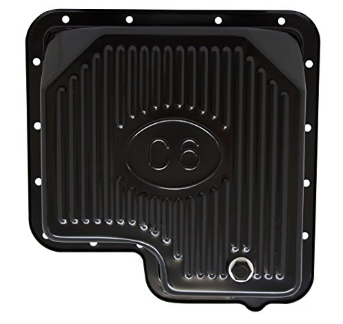 FORD C6 STEEL TRANSMISSION PAN - EDP BLACK
