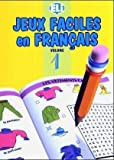 jeux faciles en francais easy word games in five languages book 1 by not available 1994 06 04