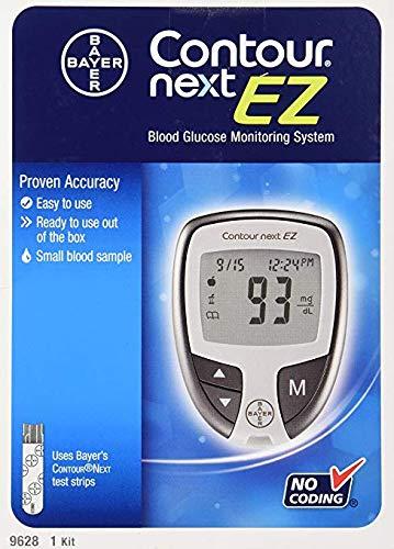 Bayer Contour Next Ez Blood Glucose Monitoring Kit
