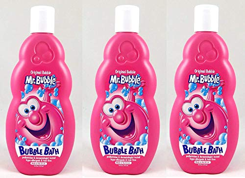 Mr. Bubble Original Bubble Bath, 16 Oz (Pack of 3)