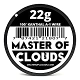 100 ft - 22 Gauge Kanthal A1 Resistance Wire from Master Of Clouds