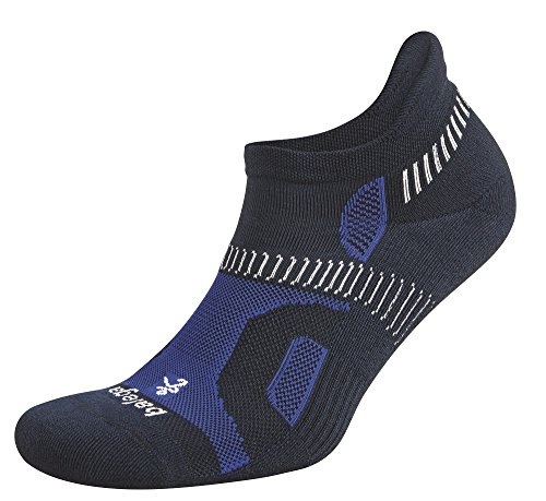 Balega Hidden Contour Socks For Men and Women (1-Pair), Ink/Cobalt, X-Large