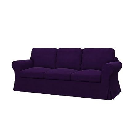 Ikea Divani 3 Posti.Soferia Fodera Extra Ikea Ektorp Divano A 3 Posti Tessuto Elegance