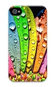 Drop Colours PC Case for iphone 4S/4