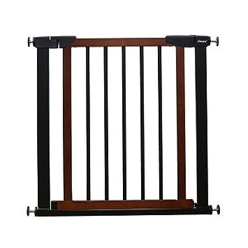 Barrera seguridad Puertas Extra Anchas de Madera para Puertas de escaleras, Protector de Pared,
