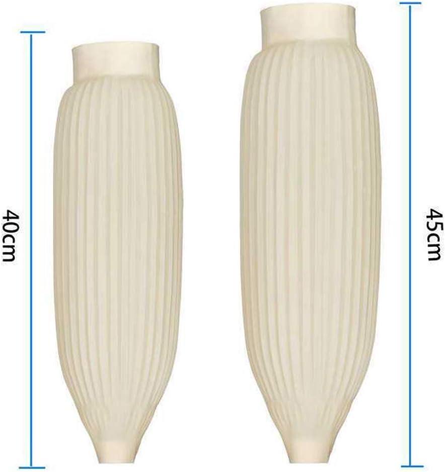 No nulo impermeables como se muestra en la imagen fundas de brazo reutilizables y resistentes a la corrosi/ón Sdkmah9 Pu/ños multiusos mangas fundidas impermeables resistentes al aceite 40 cm