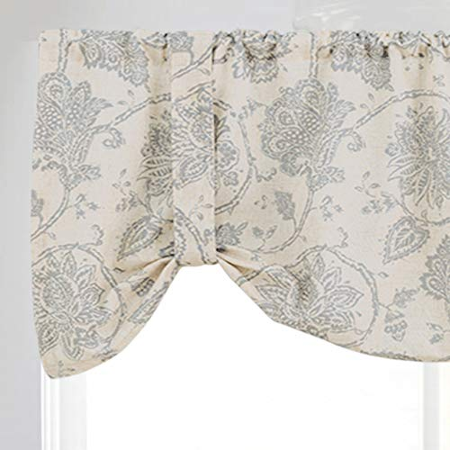 jinchan Floral Printed Tie-up Valance 1 pc 20