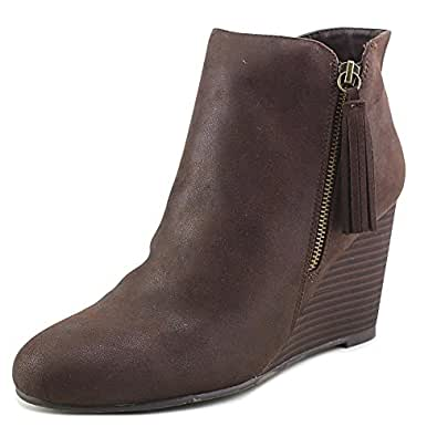 9143807d0b61 Image Unavailable. Image not available for. Color  MIA Womens Buckley  Leather Closed Toe Ankle Fashion Boots ...