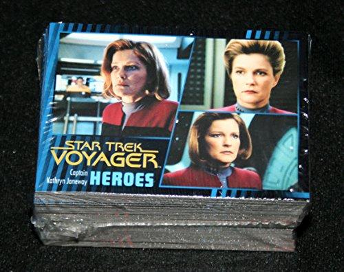 2015 Star Trek Voyager Heroes & Villains Complete Set all 99 cards