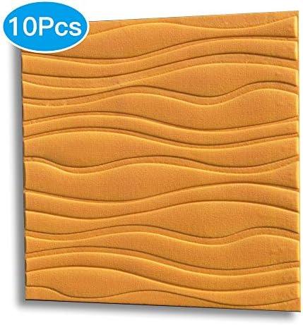 3D 壁紙 レンガ 防音シート 防水 壁紙 断熱 DIYクッション シール シート立体 壁用 壁紙 はがせる タイルシール ウォールステッカー 壁用 タイル