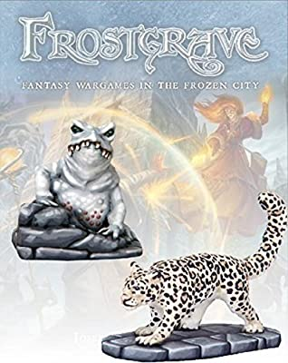 Frostgrave Ice Toad & Snow Leopard - FGV301 from Warlord Games