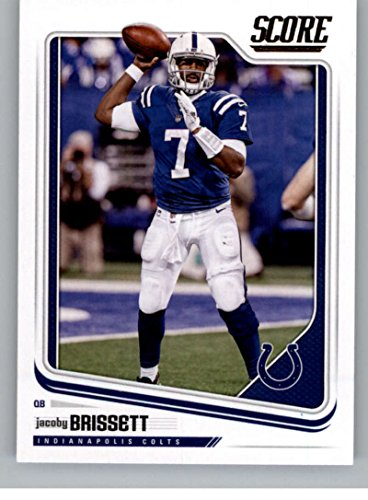 Indianapolis Colts Football Card - 2018 Score #144 Jacoby Brissett Indianapolis Colts Football Card