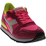 Diadora Titan II W Skate Shoe, Fluorescent Pink/Fluorescent Yellow, 8 M US