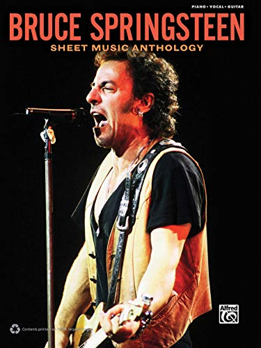 Bruce Springsteen -- Sheet Music Anthology: Piano/Vocal/Guitar -