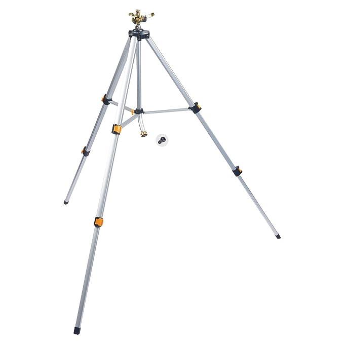 Melnor 65066-AMZ Metal Pulsating Sprinkler - The Best For Wide Areas