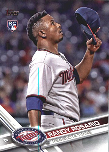 (2017 MLB Topps Update (Series 3) US208 Randy Rosario RC Rookie Minnesota Twins Official Baseball Trading Card)