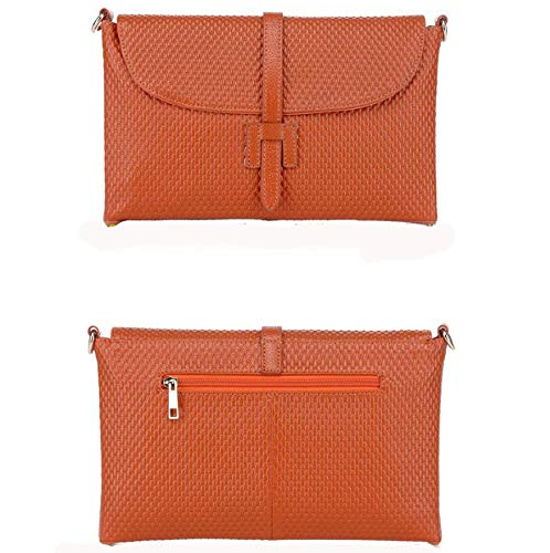 Bag Female Hongge C Oblique Lady Leather Fashion Purse Bag Woven CqFHYwq