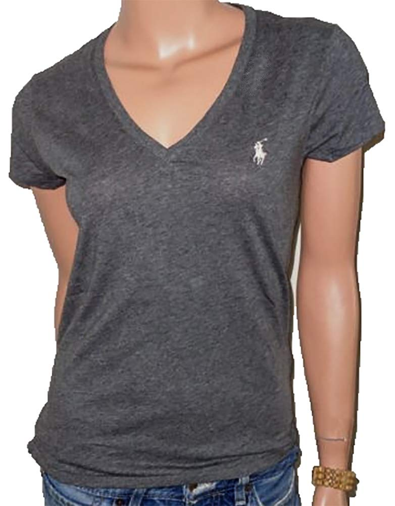 Galleon Polo Ralph Lauren Women S Pony Logo V Neck Tee X Large