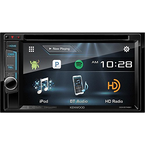 Kenwood DDX574 / DDX574BH DDX574 Double Din 6.2 DVD In-Dash - Shopping Kenwood