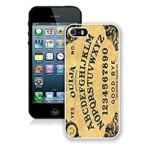 Coolest Iphone 5s Case Custom Cheap Iphone 5 White Cover Ouija Board by icecream design