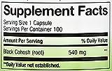 Nature's Way Black Cohosh Root 540 mg, 100