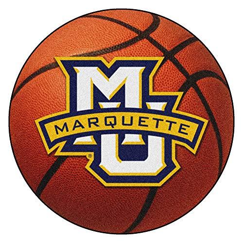 FANMATS NCAA Marquette University Golden Eagles Nylon Face Basketball Rug