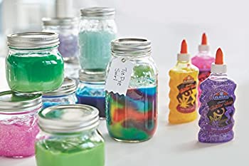 Elmer's Liquid Glitter Glue, Washable, Assorted Colors, 6 Ounces Each, 3 Count - Great For Making Slime 6