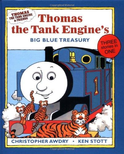 Thomas the Tank Engine's Big Blue Treasury (Thomas the Tank Engines & Friends (Friends Blue Engine)