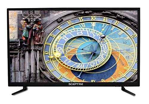 Sceptre 4K 40-Inch LED TV U405CV 3840 x 2160 HDMI 2.0 HDCP 2.2 True Black, 2018