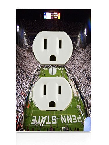 Penn State Football Stadium Electrical Outlet Plate