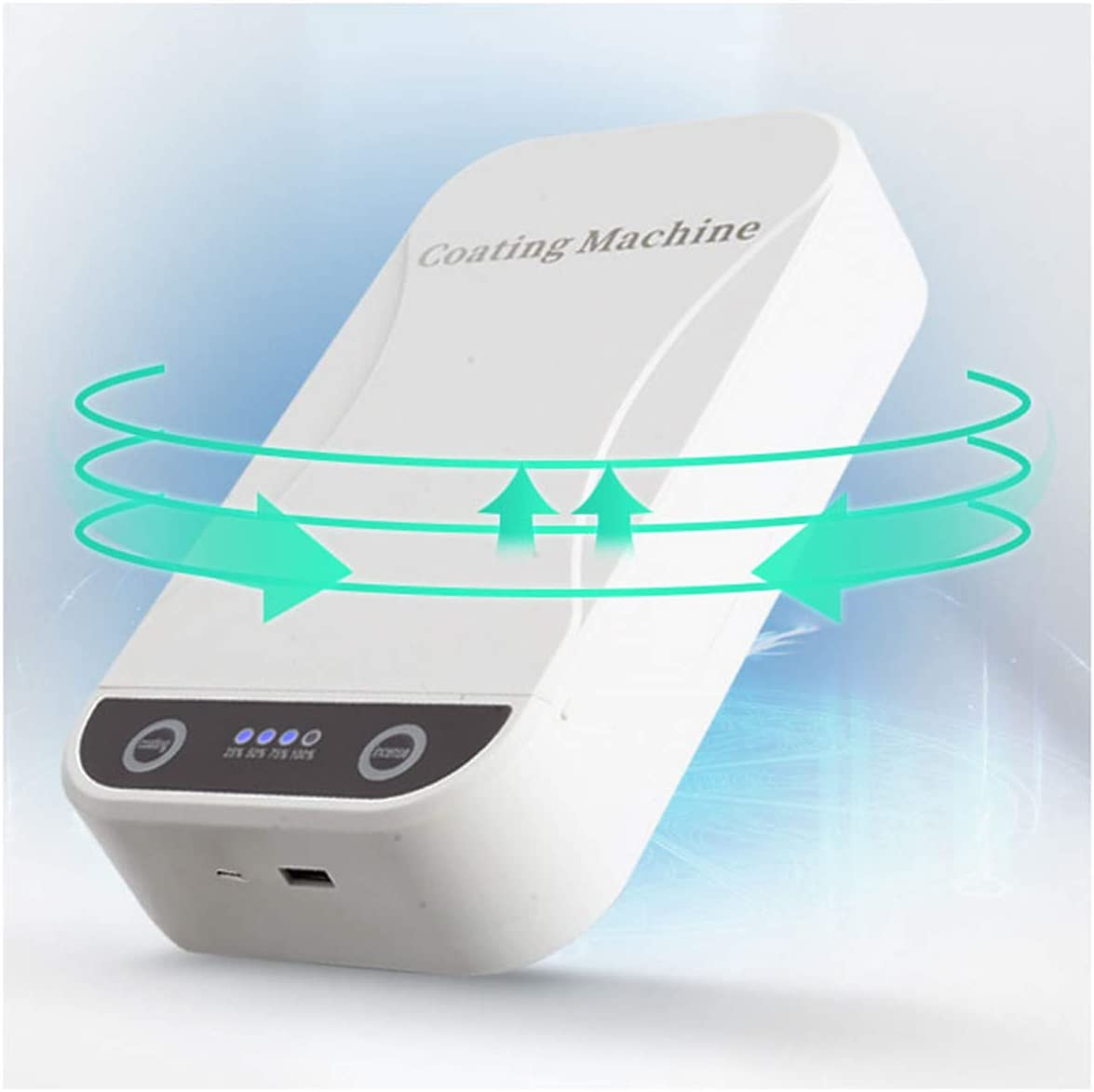 Phone Cleaner with USB Charging WLMGWRXB Cell Phone Sanitizer Sterilizer,UV Cell Portable Smart Phone Sterilizer Aromatherapy Function Disinfector