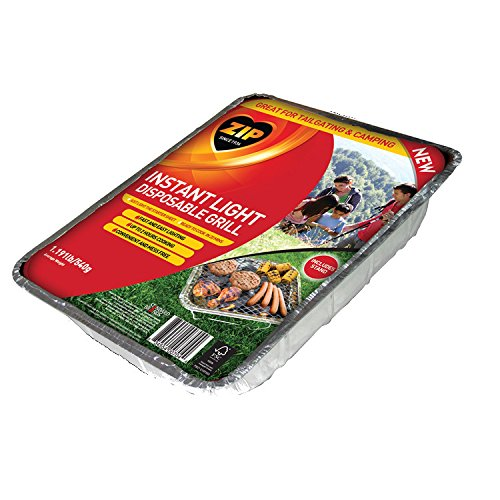 Zip Instant Light Disposable Grill by Zip