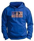 Wrestling Knee Pads American Pride Wrestling Premium Hoodie Sweatshirt Medium Royal