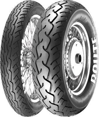 Pirelli MT66-Route Cruiser Motorcycle Tire - 130/90-16 Black, 67H / Front (Best Price Pirelli Tyres)