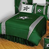 NHL Dallas Stars King Bedding Set Hockey Logo Bed