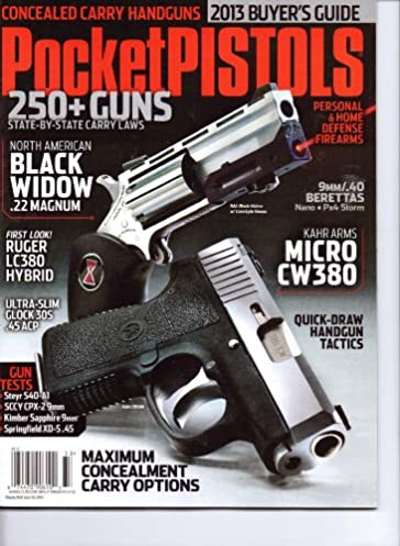 pocket pistols magazine 250 guns 2013 buyer s guide amazon com rh amazon com Stevens Point Buyer's Guide Back of Buyers Guide