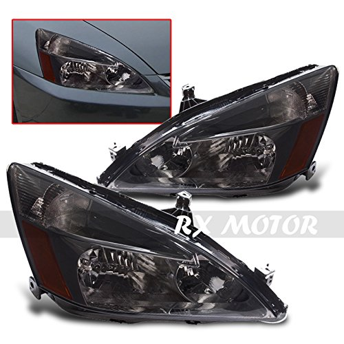 (Driver and Passenger Headlights Headlamps Replacement for Honda Civic)