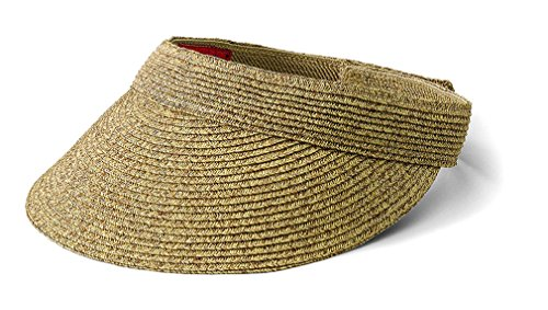 san-diego-hat-company-womens-small-brim-visor-o-s-brown