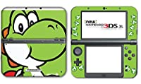 New Super Mario Bros Yoshi Special Shell Video Game Vinyl Decal Skin Sticker Cover for the New Nintendo 3DS XL LL 2015 System Console