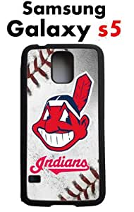 Cleveland Indians Samsung Galaxy s5 Case Hard Silicone Case by mcsharks