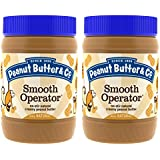 Peanut Butter & Co. Peanut Butter, Smooth Operator, 16 Ounce Jars (Pack of 2)