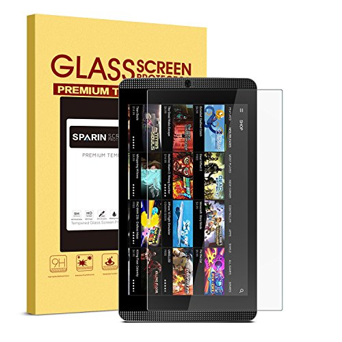 SPARIN NVIDIA Shield Tablet K1 Screen Protector For NVIDIA Shield Tablet K1 8 Inch, [.3mm / 2.5D] [Tempered Glass] [Repeatable Installation]