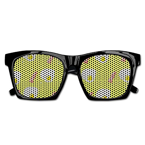 Unisex Pattern Bacon And Scrambled Eggs Polarized Fashion Sunglasses For Men Women Full ()