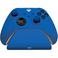 Controller Gear Shock Blue - Universal Xbox Pro Charging Stand with 1200 Mah Rechargeable Battery, Charging Dock…